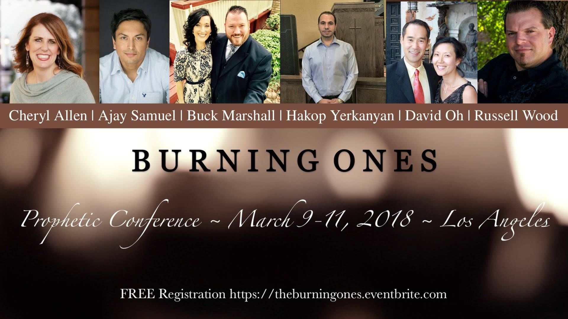 """THE BURNING ONES"" Prophetic Conference"